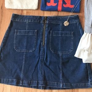 [NWT] Madewell Denim Skirt